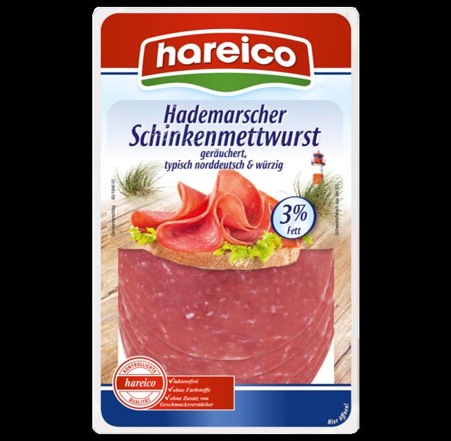 hareico Hademarscher Schinkenmettwurst