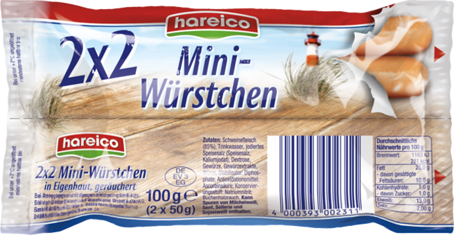 hareico Mini-Würstchen