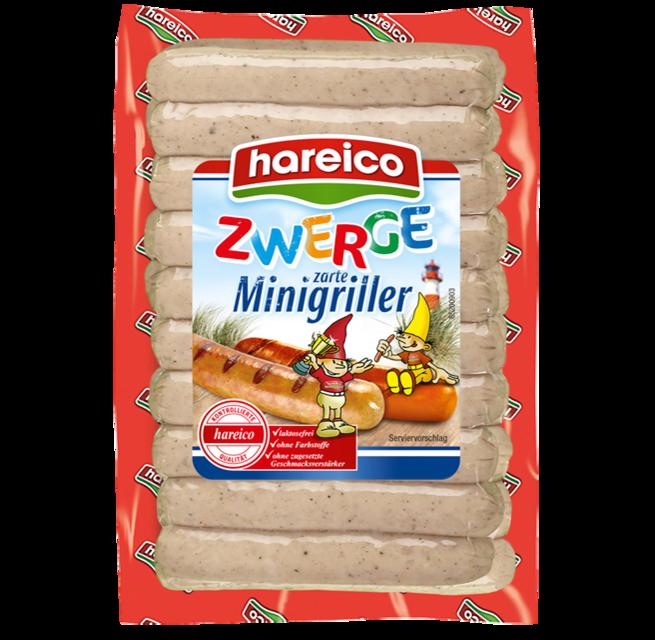 hareico Zwerge Rostbratwürstl.