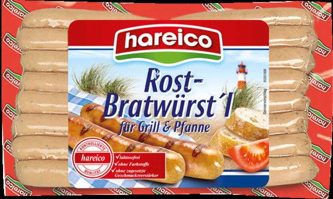 hareico Rostbratwürstl.